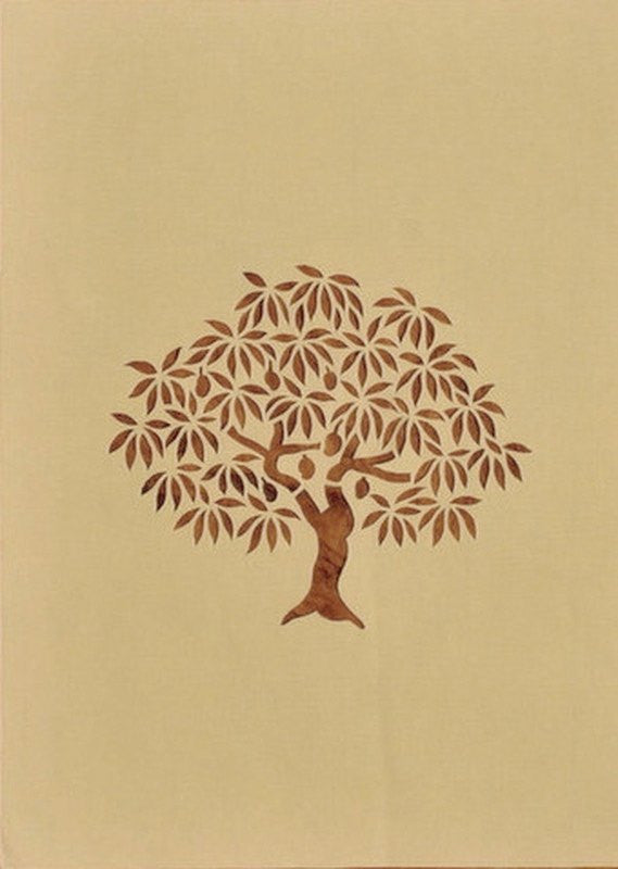 Flora series Trees III sanjhi folk art b