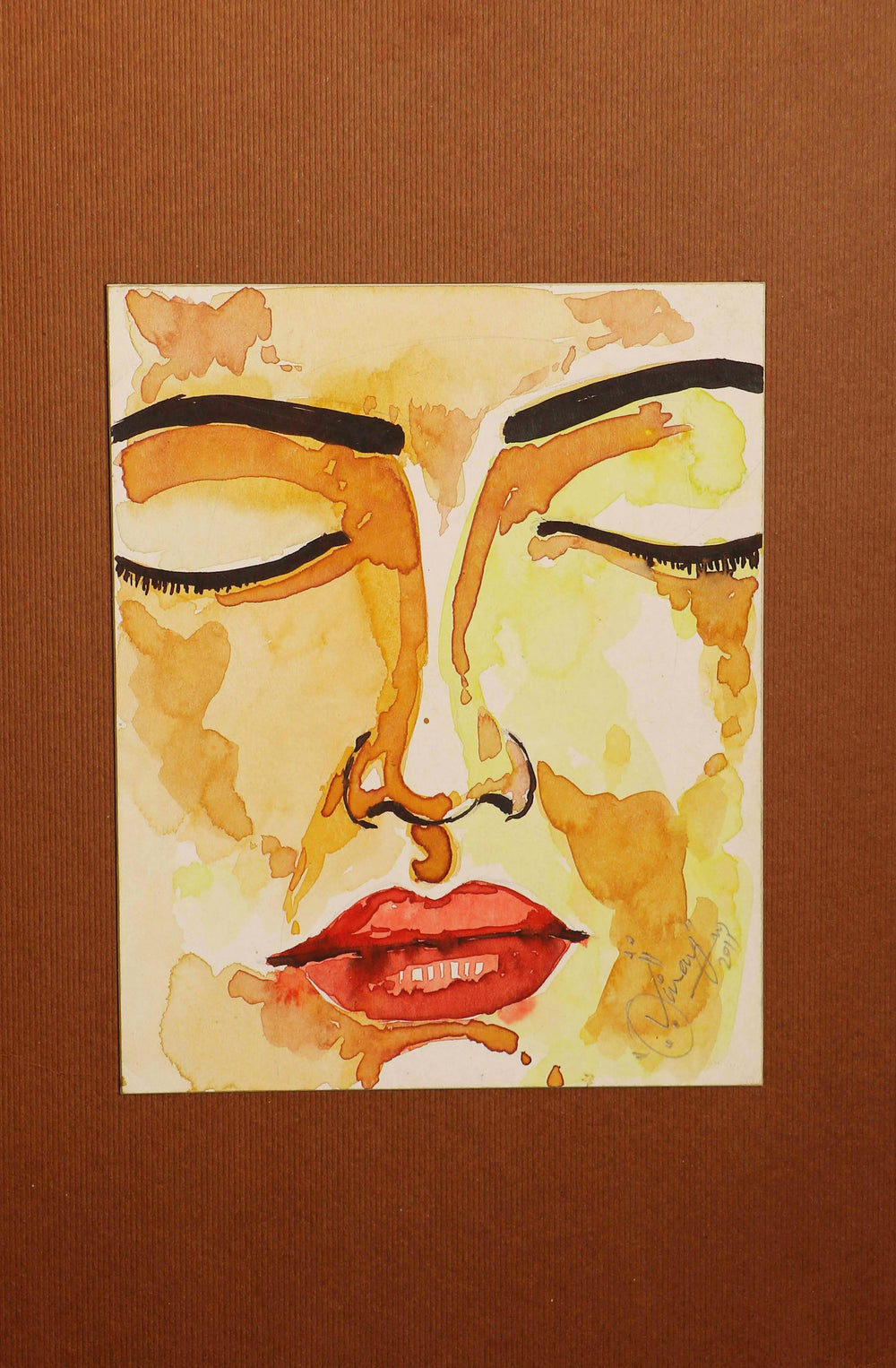 Watercolor Potrait Wall Art