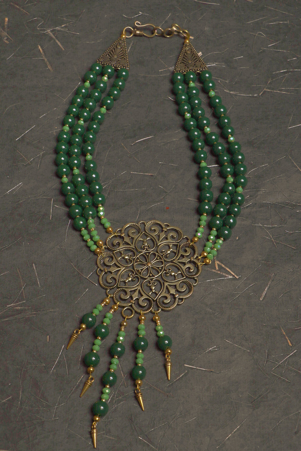 Glass bead Jewelry Necklace