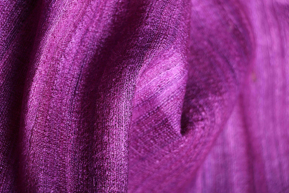 Silk Route series Tussar silk VI fabric