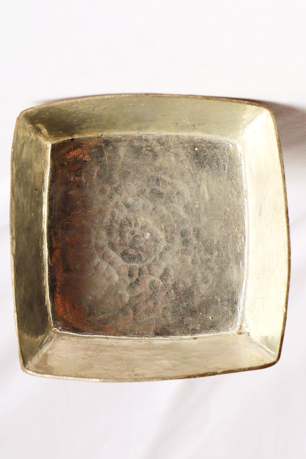 Copper connect series decor copper square bowl