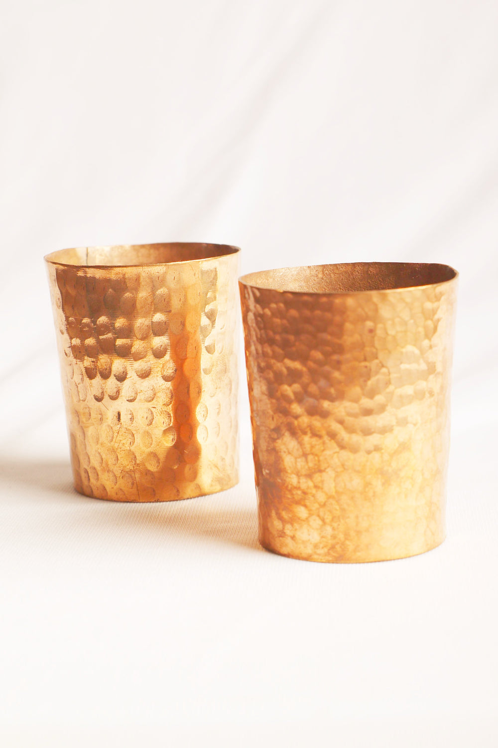 Copper connect series copper bar shot glass (set of 2)