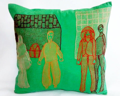 People Series V cushion cover
