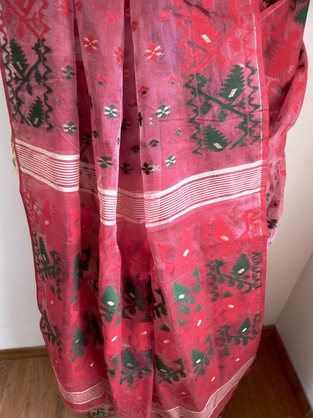 Bengal weaves series featherlight VII jamdani saree e