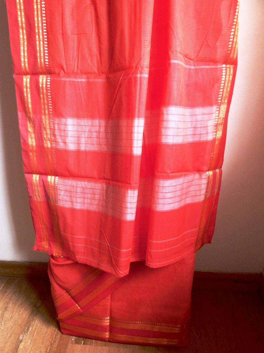 Indian weaves series unique communities I east Indian 9 yard saree e
