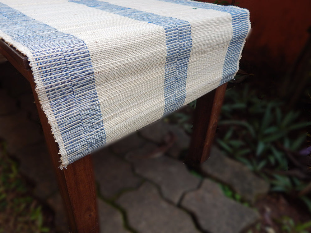 Natural fibre series Braidit I table runner or bed footer mat c