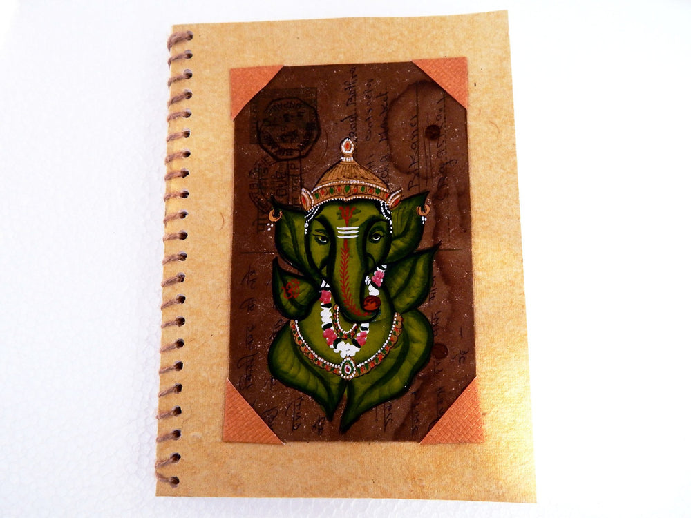 Postcard series Devine I notebook small a