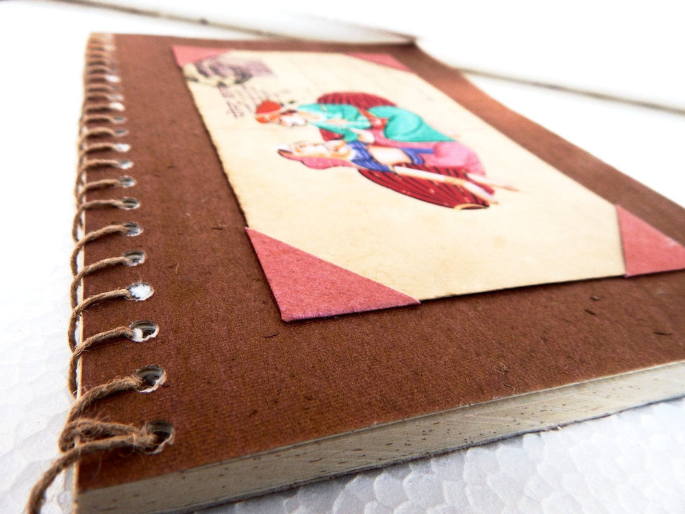 Postcard series Couple I notebook small b