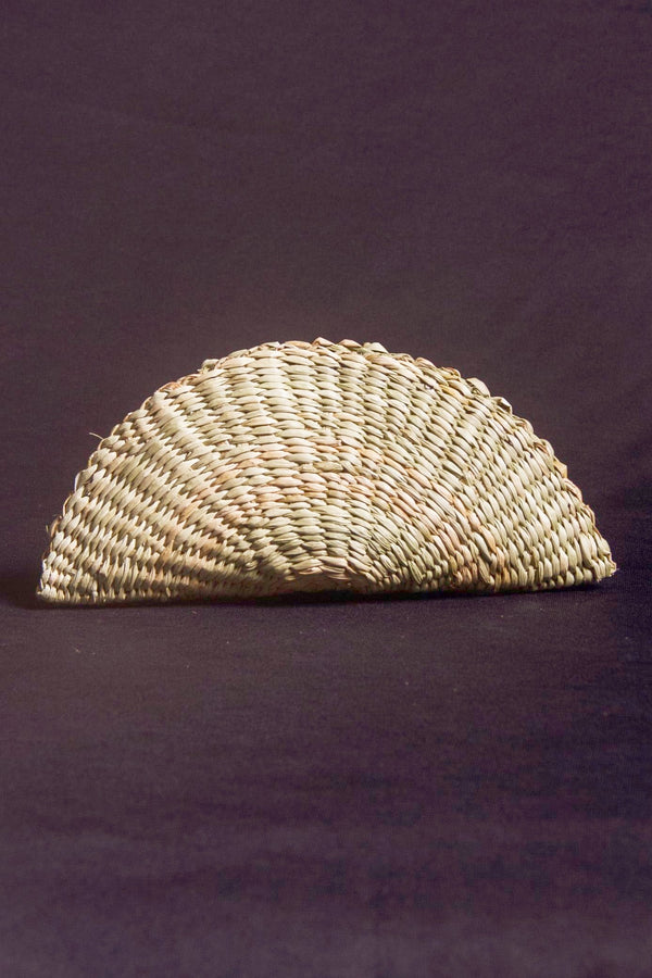 Eco friendly woven clutch - small size