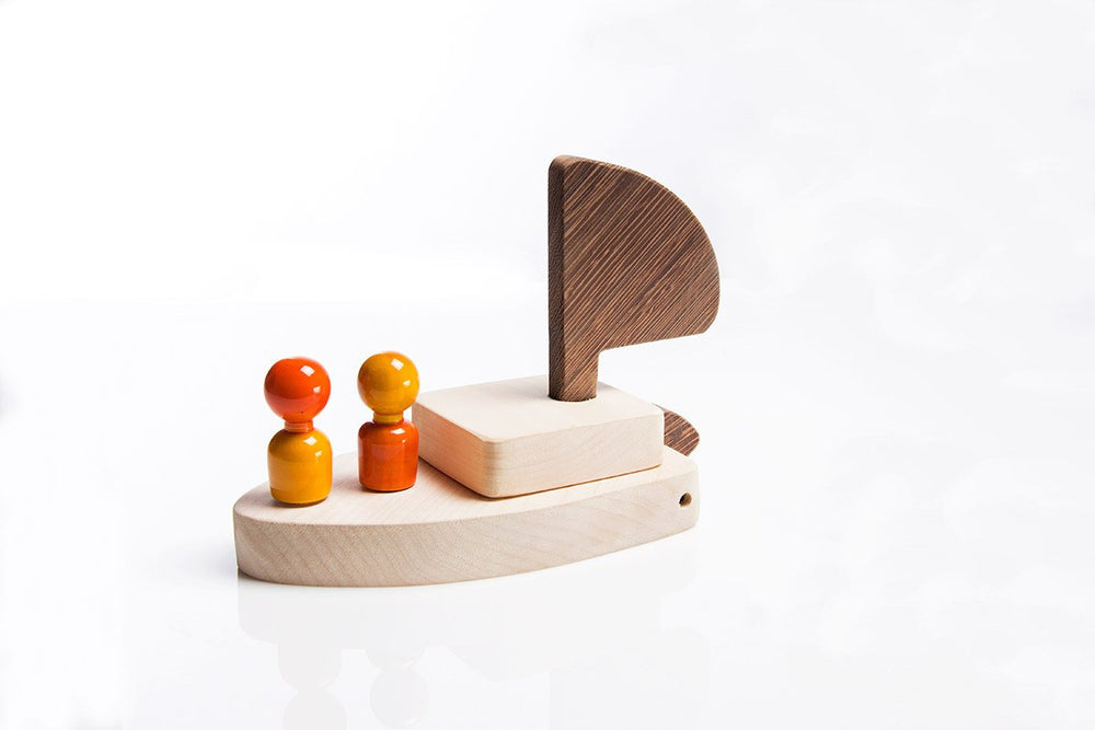Titanic wooden assembly toy channapatna toys range