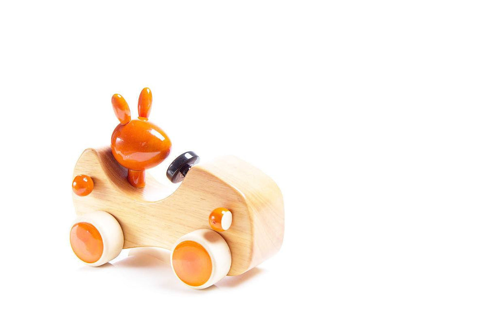 Channapatna toys wooden car toy