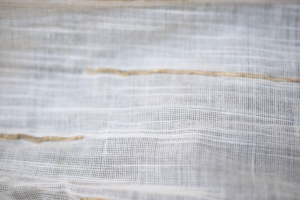 Blended Vetiver (khus) cotton fabric b