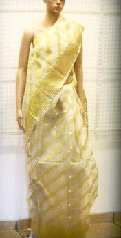 Bengal weaves series featherlight IX jamdani saree