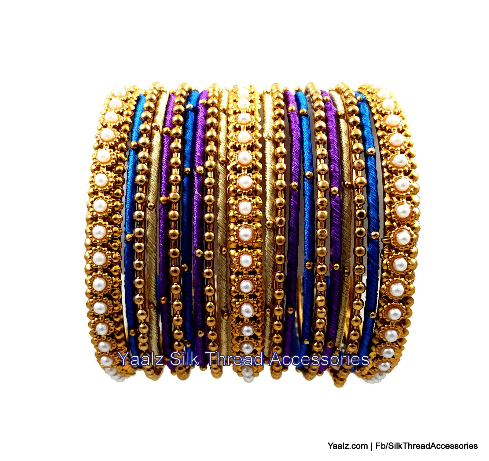 fashion par thread bangles metal pc itm wrapped of gold sz tone set