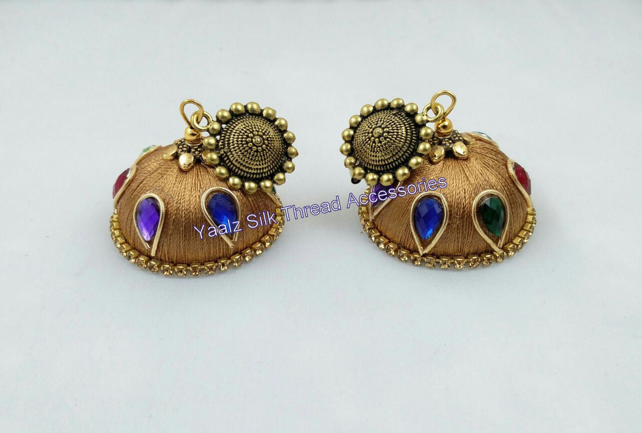 Earrings Amp Jhumkas Tagged Quot Multi Color Quot Yaalz