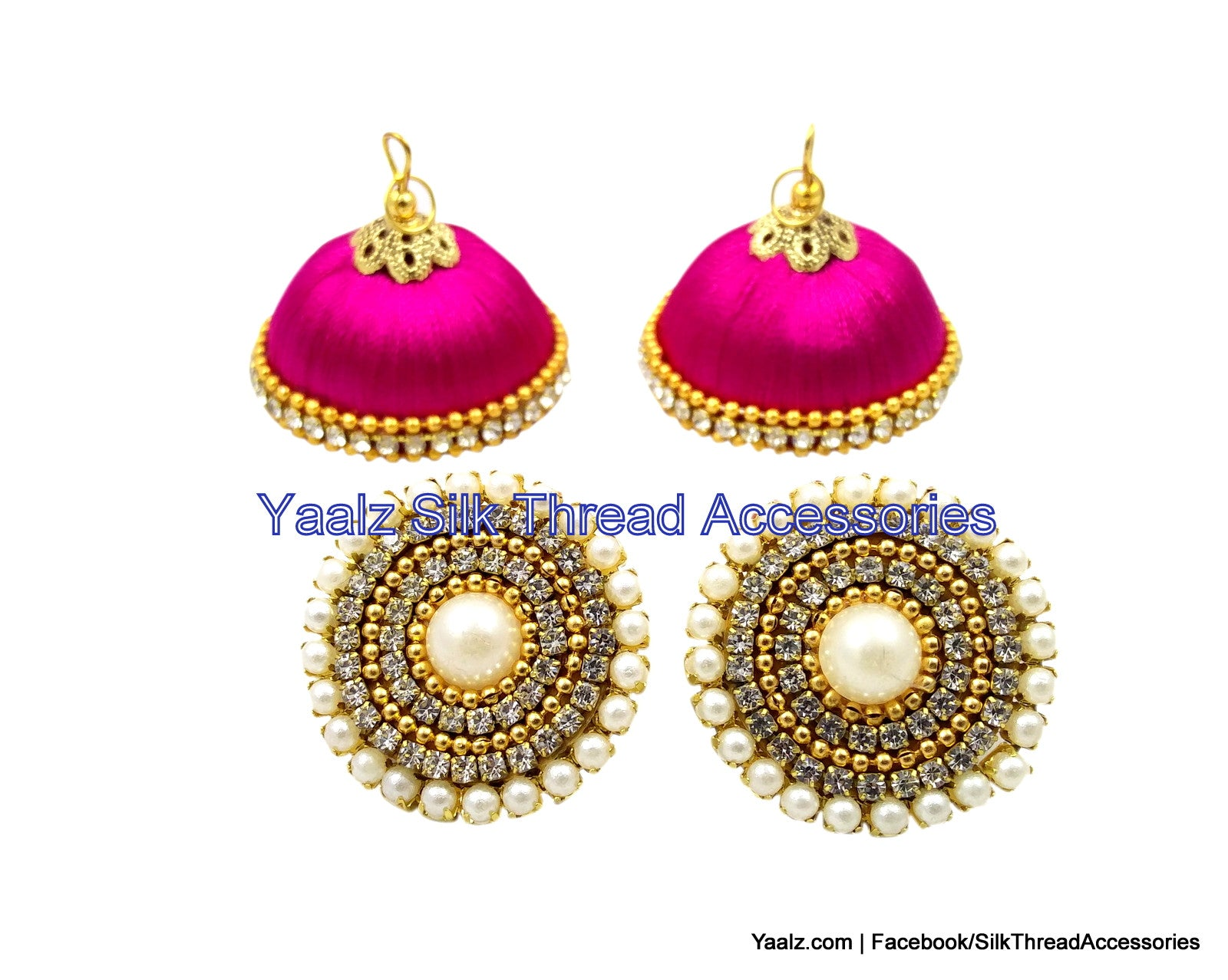 gallery jewelry new product york pink in kate faceted round spade earrings sparkle stud lyst