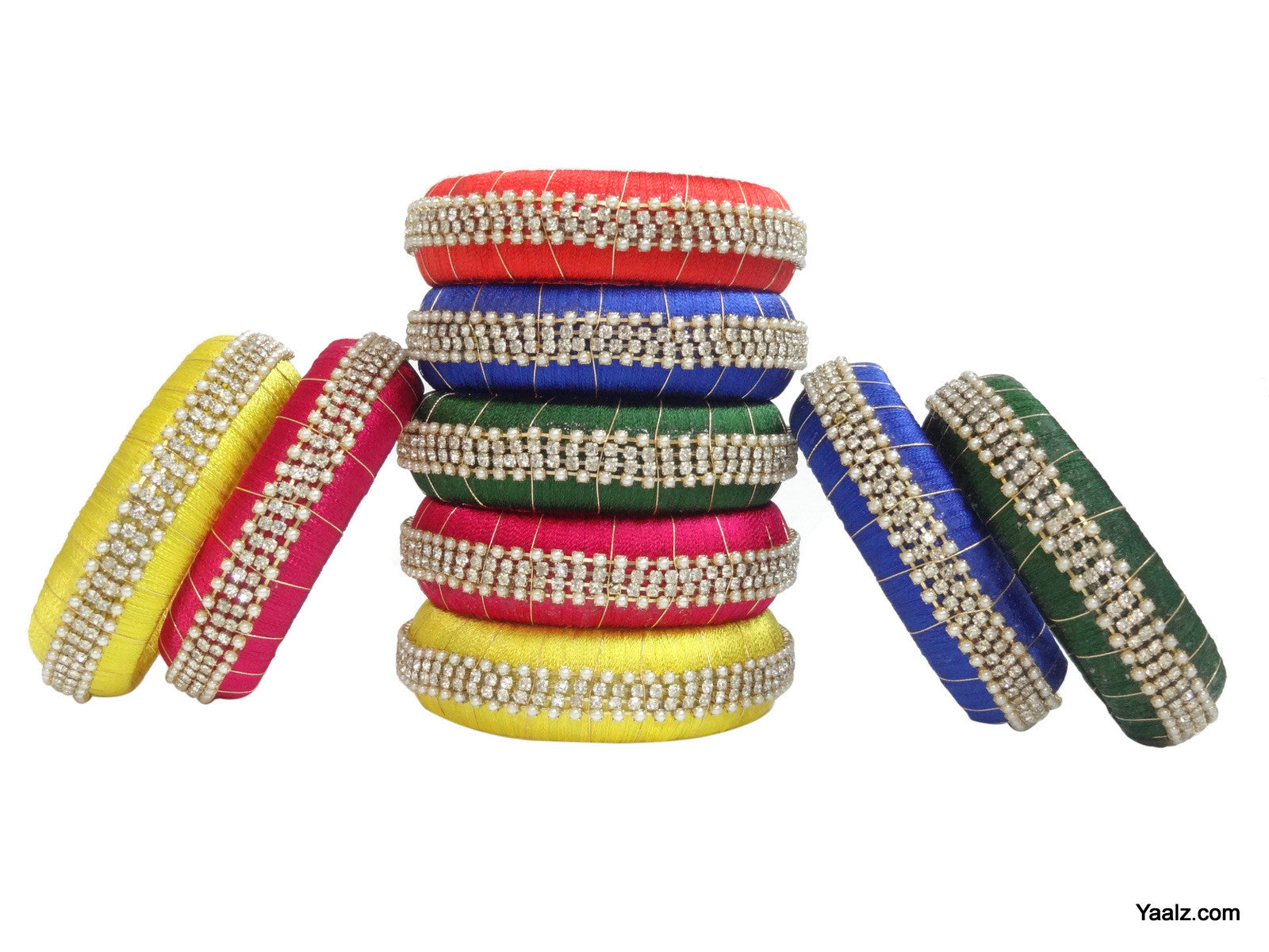 bangles bangle one products novelties cut set diamond dot guarentee on design designer prasad of yr polka light weight polish daily wear