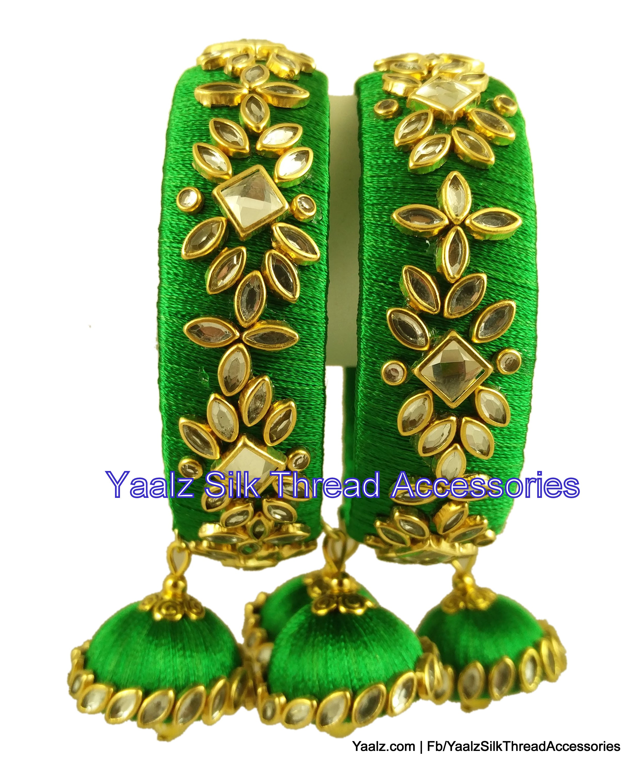 set own beautiful shack white bangles gold this jewelberry stones product stone of and green in