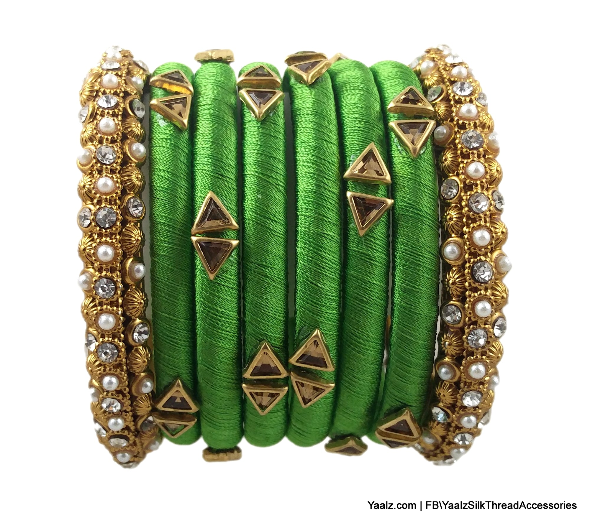 precious set bangles gold stone emerald details two green of