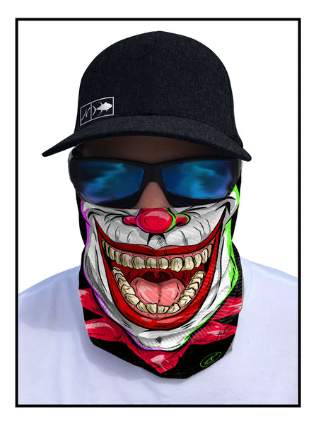 Jokester Fishing Face Guard Sun Mask Bandana front view