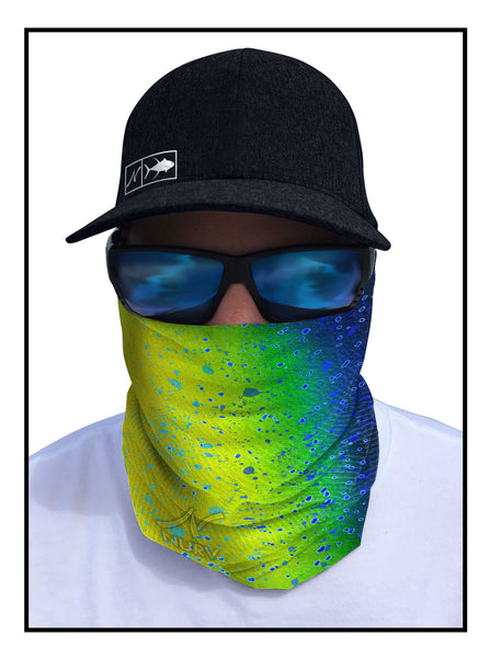 Mahi Fishing Face Guard Sun Mask