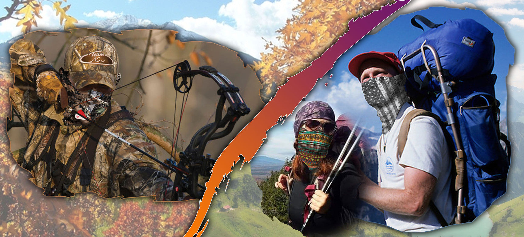 Hunting and Hiking face guards