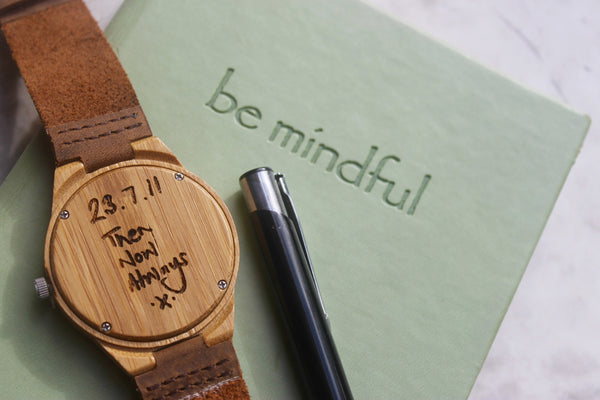 Personalised Handwriting Watch