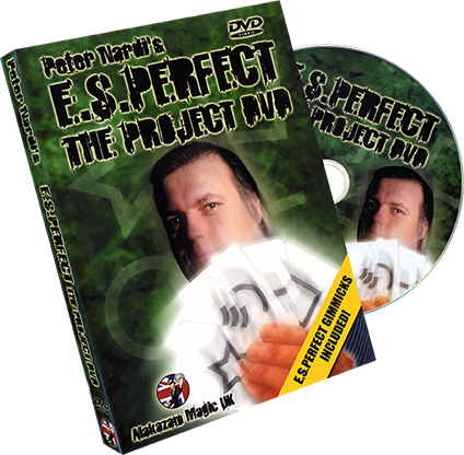 E.S.Perfect - The Project DVD by Peter Nardi and Alakazam Magic - Mystique Factory