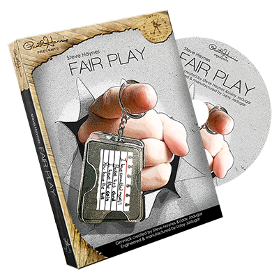 Paul Harris Presents Fair Play French (DVD and Gimmick) by Steve Haynes