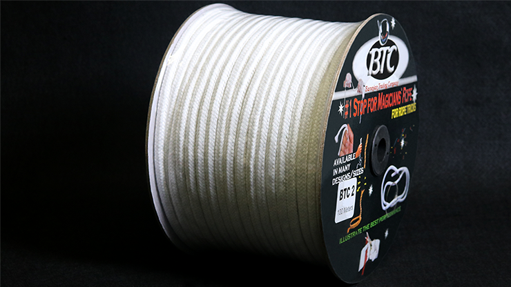 BTC Parlor Rope over 325 ft. (Extra White) (BTC2) - Mystique Factory
