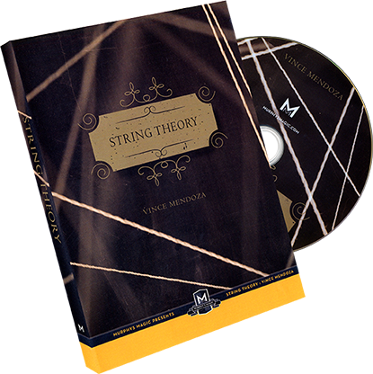 String Theory (DVD and Gimmick) by Vince Mendoza - Mystique Factory