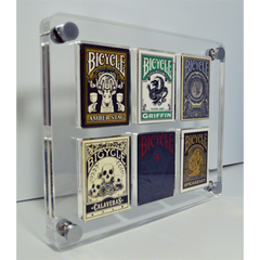 6 Deck Card Case by Gambler's Warehouse - Mystique Factory