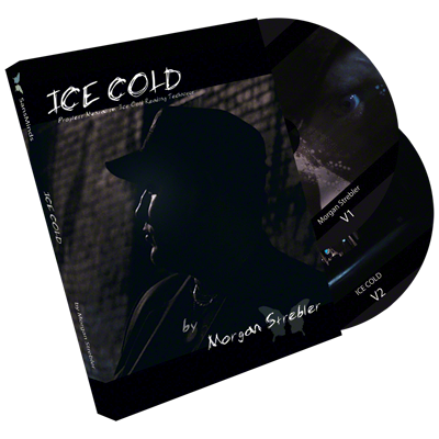 Ice Cold: Propless Mentalism (2 DVD Set) Limited Edition by Morgan Strebler and SansMinds - Mystique Factory