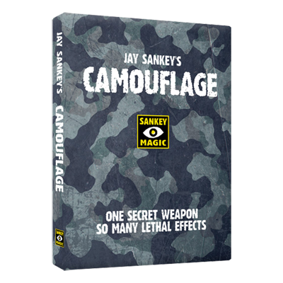 Camouflage (DVD & Gimmicks) by Jay Sankey - Mystique Factory