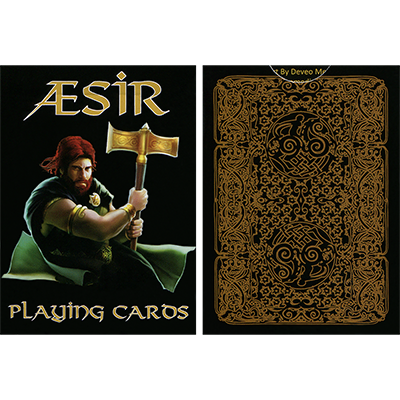 AEsir Gold Playing Cards by Doug Frye