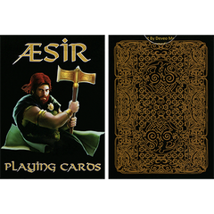 AEsir Gold Playing Cards by Doug Frye - Mystique Factory Magic