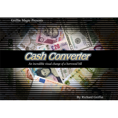 Cash Converter by Richard Griffin - Mystique Factory