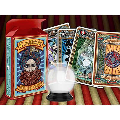 Kadar Playing Cards Designed by Christopher J Gould - Mystique Factory