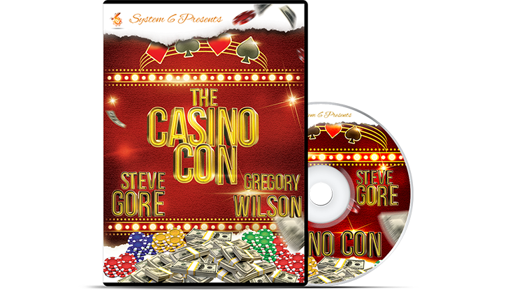 The Casino Con by Steve Gore and Gregory Wilson - Mystique Factory