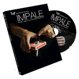 Impale (DVD and Gimmicks) by Jason Yu and Nicholas Lawrence - Mystique Factory