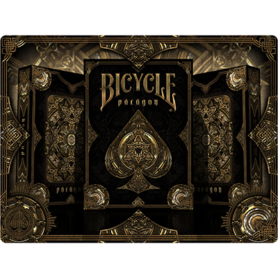 Bicycle Paragon Playing Cards by Shape Shfiters - Mystique Factory Magic