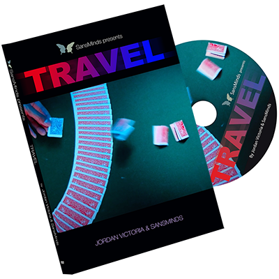 Travel (DVD and Gimmick) by Jordan Victoria - Mystique Factory