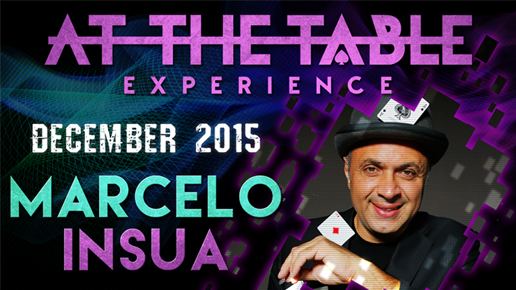 At the Table Live Lecture Marcelo Insua December 2nd 2015 video DOWNLOAD - Mystique Factory