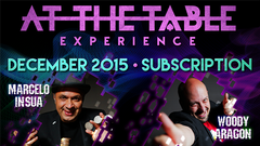 At The Table December 2015 Subscription - Mystique Factory