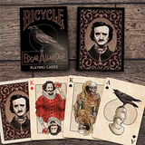 Bicycle Edgar Allan Poe Playing Cards - Mystique Factory Magic