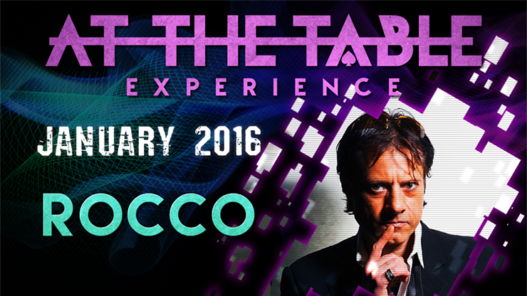 At the Table Live Lecture Rocco January 6th 2016 video DOWNLOAD - Mystique Factory