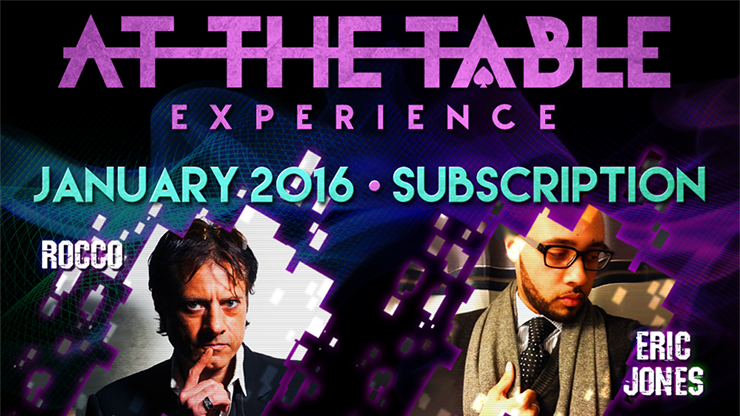 At The Table January 2016 Subscription - Mystique Factory