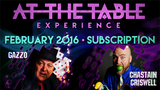 At The Table February 2016 Subscription - Mystique Factory