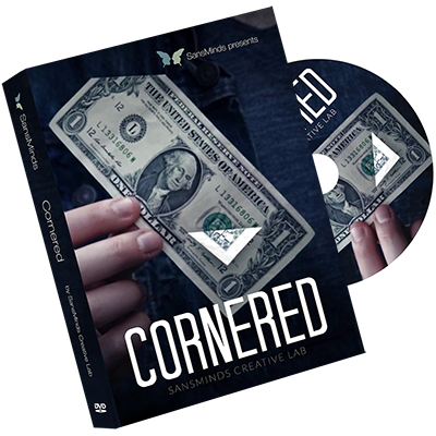 Cornered (DVD and Gimmick Set) by SansMinds Creative Lab - Mystique Factory Magic