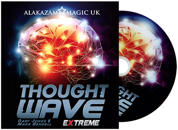 Thought Wave Extreme (Props and DVD) by Gary Jones & Alakazam Magic